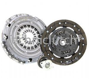 3 PIECE CLUTCH KIT INC BEARING 200MM SKODA ROOMSTER 1.4